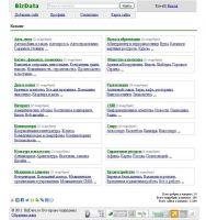 Тематический интернет-каталог BizData.ru