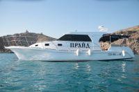 """""""Прайд"""" - аренда катера, морские экскурсии, морская рыбалка в Крыму, Севастополе, Балаклаве"""