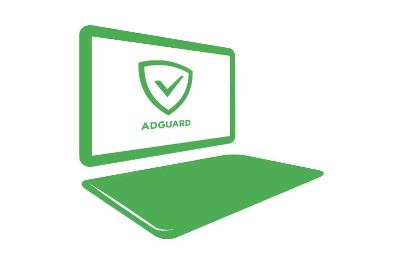 Браузер без рекламы вместе с Adguard и высокая скорость интернета